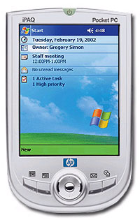 HP iPaq Pocket PC H1910