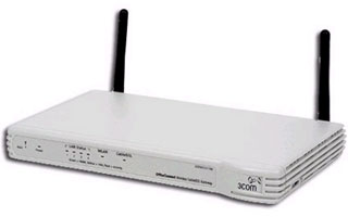 3Com OfficeConnect Wireless Cable/DSL Gateway