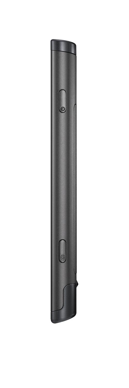 Das Gehäuse des Omnia 7 ist komplett aus Aluminium gefertigt. Nur oben und unten kommt Kunststoff zum Einsatz.