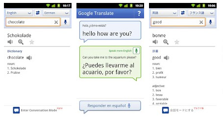 Google Translator (Bild: Google Play)