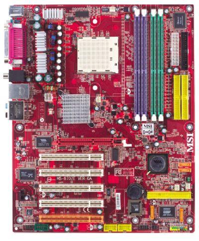 Das MSI-Board K8T Neo2 hat AMD als Referenz-Plattform für den Test des Athlon 3800+ ausgewählt.