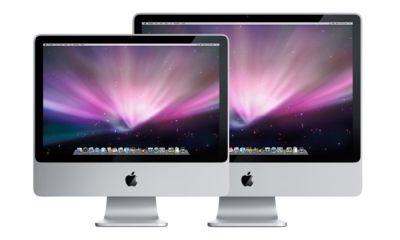 Den neuen iMac gibt es in zwei Ausführungen: Das 20-Zoll-Modell ist allerdings mit einem preiswerten TN-Display ausgestattet, während beim 24-Zoll-iMac ein hochwertiges SIPS-Panel zum Einsatz kommt.