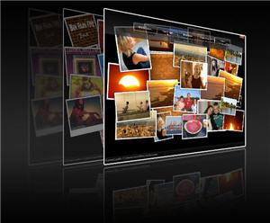 Wallpaper-Generator zur Gestaltung des Desktops mit eigenen Bildern (Bild: Joris Kalz).