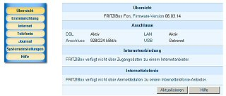 Screenshot Web.de