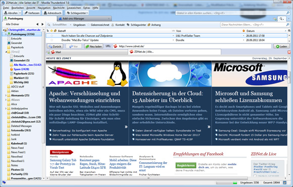 Screenshot: ZDNet
