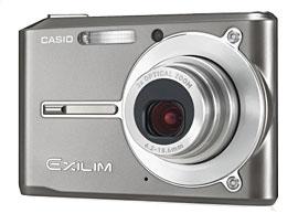 """Casio bietet bei der Exilim EX-S500 für jeden Geschmack die passende Farbe: Zur Auswahl stehen """"Brilliant Grey"""" ein elegantes Rauchgrau...."""