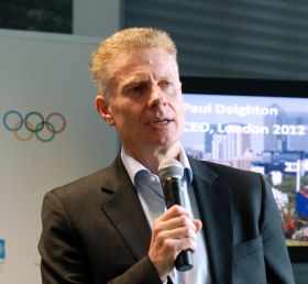 Paul Deighton, CEO von London 2012 (Bild: Uli Ries).