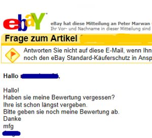 Mein Coming-Out als Bewertungsmuffel (Screenshot: ZDNet.de).