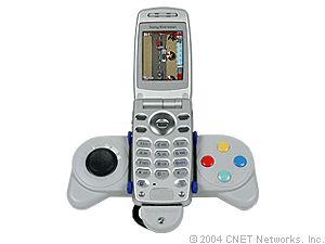 Sony Ericsson Z600 mit Gameboard