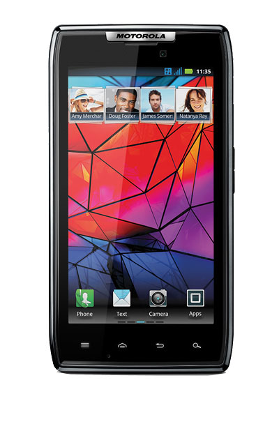 Das neue Motorola Razr hat nur wenig mit seinem Namensgeber zu tun: Es verfügt weder über eine Tastatur noch über einen Klappmechanismus.