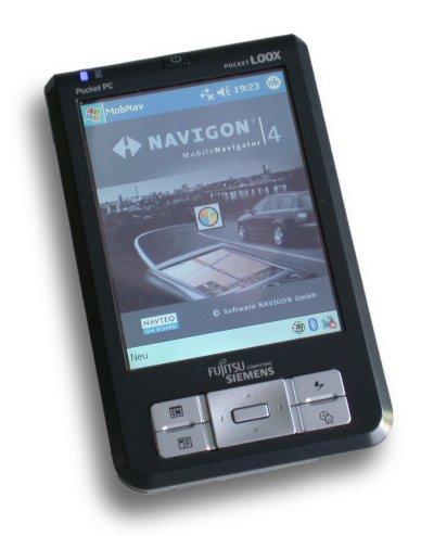 Navigon bietet den Mobile Navigator im Bundle mit einem Pocket Loox 410 für rund 600 Euro an.