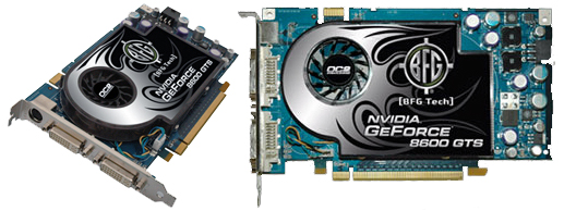 BFG Nvidia Geforce 8600 GT OC2