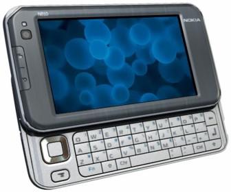 Der N810 Internet Tablet von Nokia verfügt über eine vollwertige QWERTZ-Tastatur (Bild: Nokia).