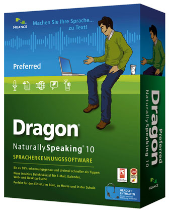 Nuance Dragon Naturally Speaking 10