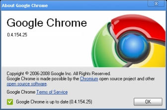 Google Chrome 0.4.154.25