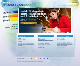 Microsoft Student Experience