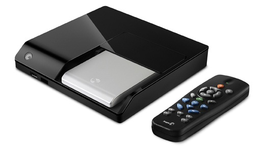 Seagates Multimedia-Player FreeAgent Theater+ gibt Videos in voller HD-Auflösung aus (Bild: Seagate).