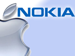 Logo Apple kontra Nokia
