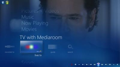 Microsoft will mit seiner neuen Mediaroom-Version auch einen IPTV-Client für Windows Media Center zur Verfügung stellen (Bild: Microsoft).