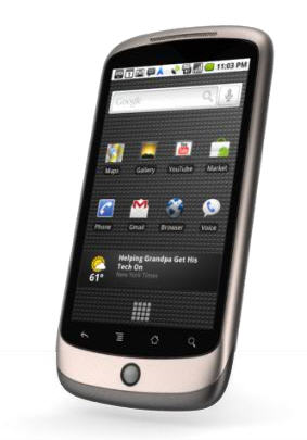 Google plant eine Enterprise-Version des Nexus One (Bild: Google).