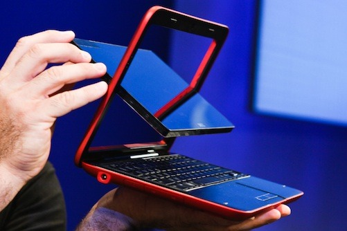 Dell Inspiron Duo (Bild: ZDNet)
