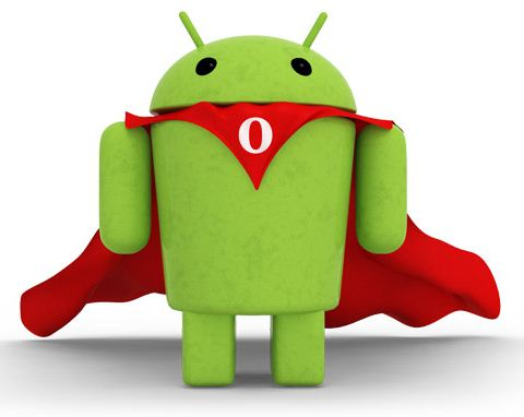 Opera trifft Android