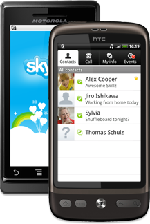 Skype for für Android