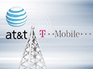 Logos AT&T und T-Mobile