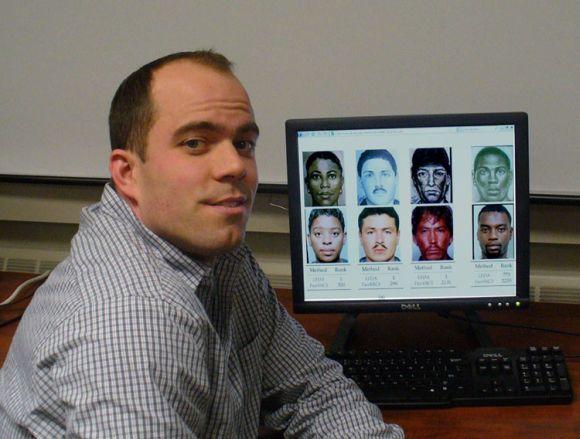 Forscher der Michigan State University haben ein System entwickelt, das Straftäter anhand von Phantomzeichnungen in einer Verbrecherkartei identifiziert (Bild: MSU).