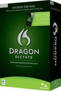 Dragon Dictate für Mac 2.5
