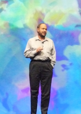 VMware-CEO Paul Maritz auf der VMworld 2011 in Las Vegas (Bild: Jay Greene/CNET)