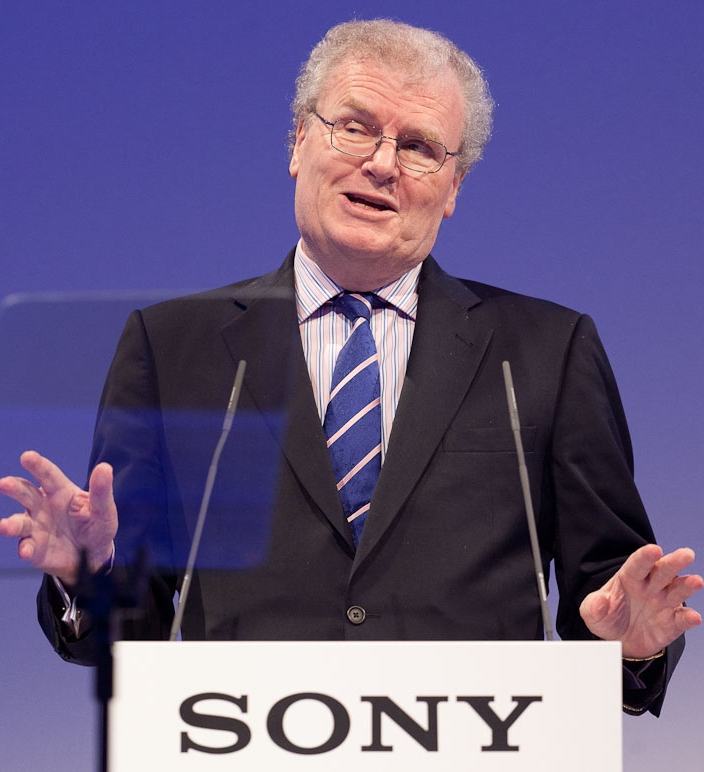 Sony-CEO Howard Stringer auf der IFA 2011 (Bild: CNET.com).