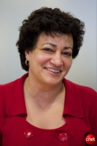Canonical-CEO Jane Silber (Bild: Stephen Shankland/CNET)