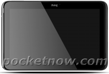 "So soll das HTC Quattro aussehen (Bild: via <a href=""http://pocketnow.com/android/htc-quattro-quad-core-tablet-fully-revealed-image"" target=""_blank"">Pocketnow</a>)."