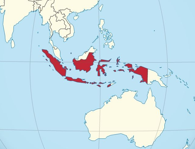 Indonesien (Bild: Wikimedia Commons/TUBS)