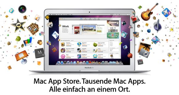App Stores für Mac (Screenshot: ZDNet)