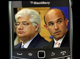 Co-CEOs Mike Lazaridis und Jim Balsillie (Bild: RIM)