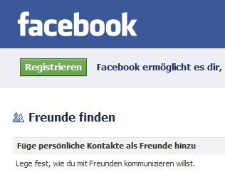 Facebooks Freundefinder ist illegal (Screenshot: ZDNet)