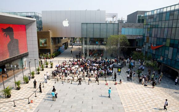 Apple Store in Peking (Bild: Apple)