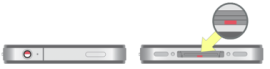 Wasserschaden-Detektor im iPhone 4S (Bild: Apple)