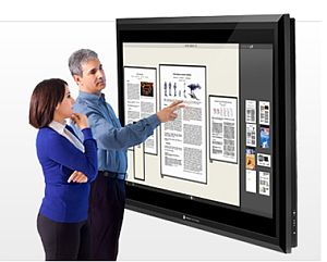 82-Zoll-Multitouch-Display von Perceptive Pixel (Bild: Perceptive Pixel)