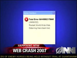 Web Crash 2007 (Onion News Network)