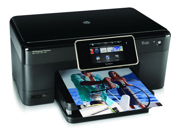 Der HPs Photosmart Premium e-All-in-One kann per E-Mail angesteuert werden (Foto: HP)