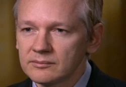 Julian Assange (Bild: via CBS News)