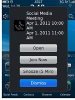 Blackberry Mobile Conferencing