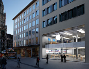 Apples Retail Store in München (Bild: Apple)