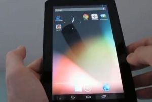 Hashcode hat Android 4.1 Jelly Bean auf das Kindle Fire portiert (Screenshot: Eric Mack/News.com)