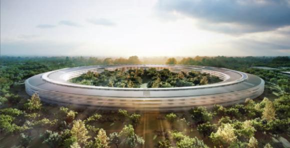 Geplante Apple-Zentrale (Bild: Apple)