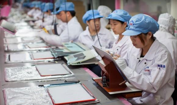 Arbeiter eines Apple-Zulieferers in Shanghai (Bild: Apple)