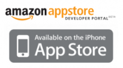 Apple und Amazon Appstore (Logos: Amazon und Apple)